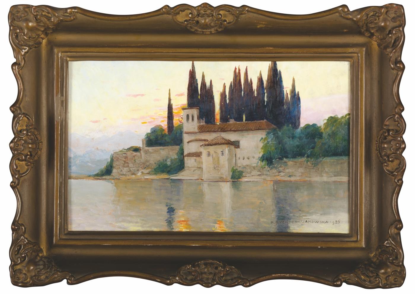 Pejzaż włoski, 1926