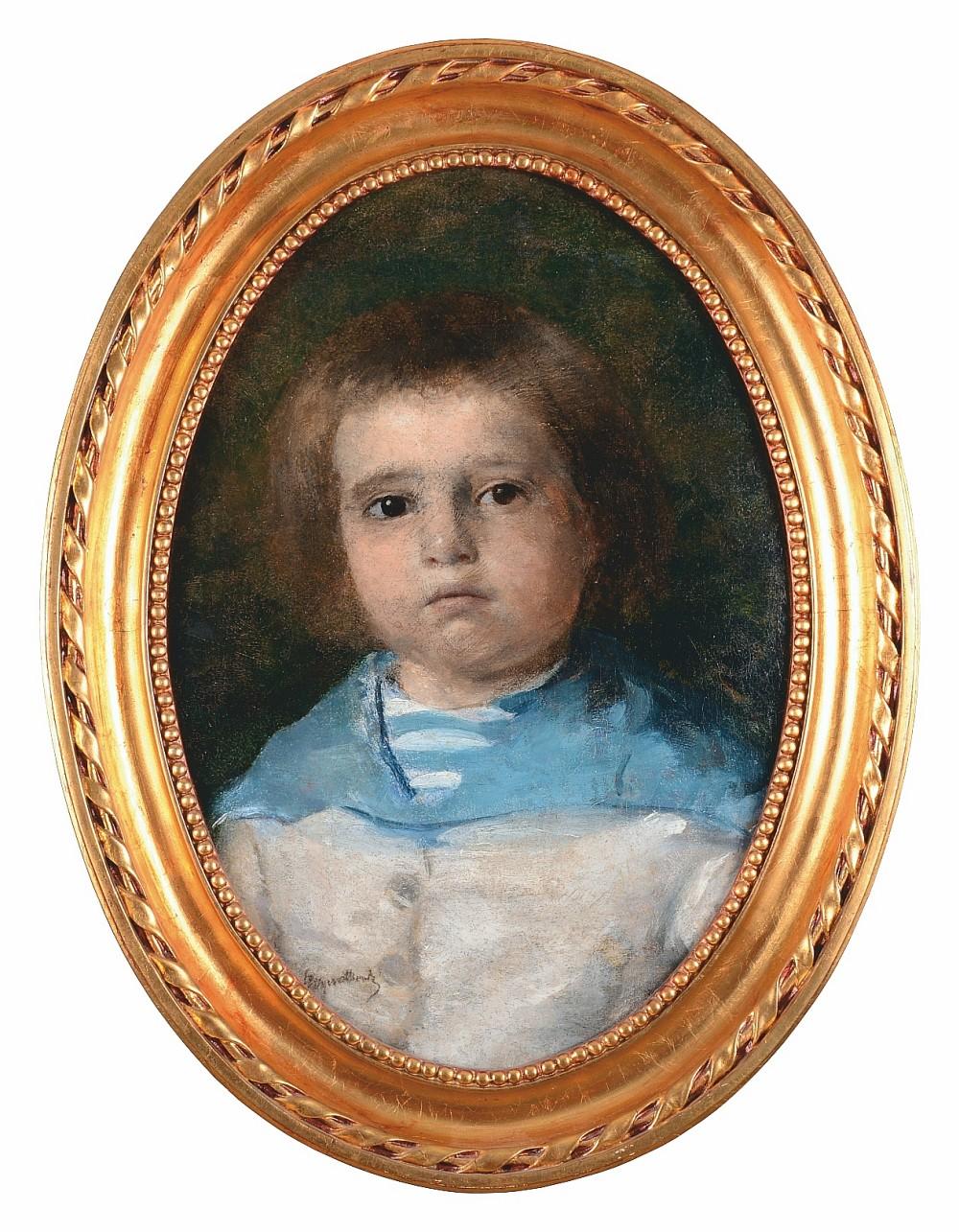 Portret Juliana Dobrzańskiego w wieku dziecięcym, 1879-1880