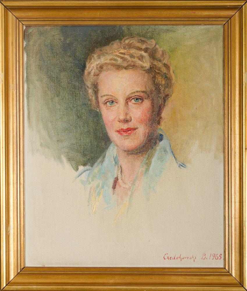 Portret kobiety, 1965