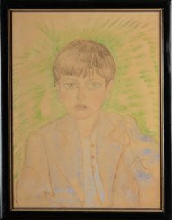 Portret Romana Ducha w wieku dziecięcym, 1934