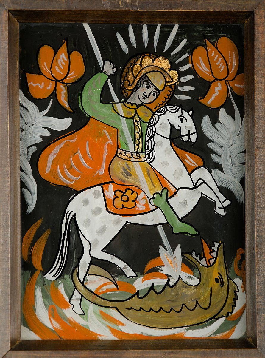 Św. Jerzy walczący ze smokiem, 1969