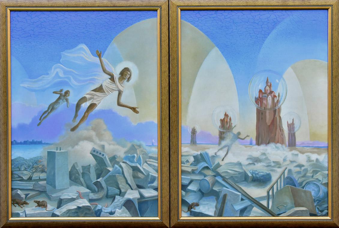 """""""Odnowa (Erneuerung). Dyptyk"""", 1995"""