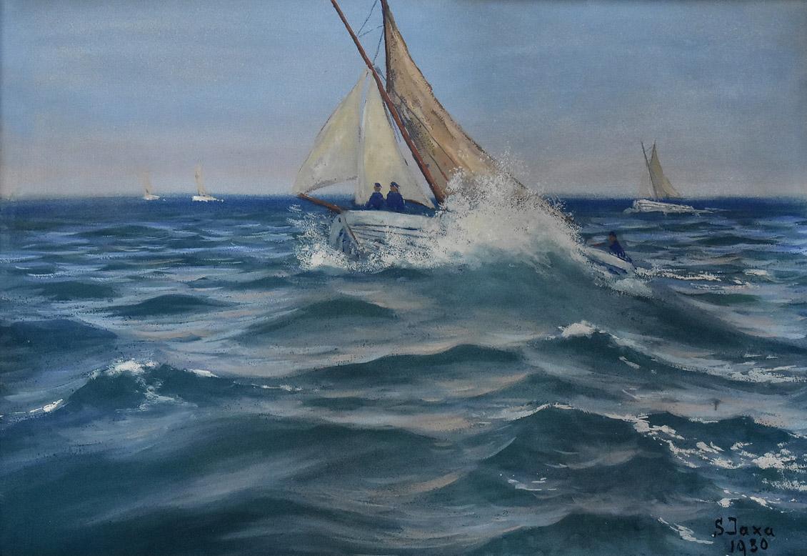 """""""Na otwartym morzu"""", 1930"""