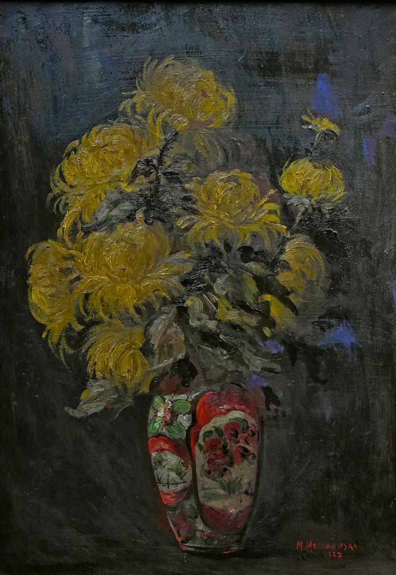 """""""Chryzantemy w chińskim wazonie"""", 1923"""