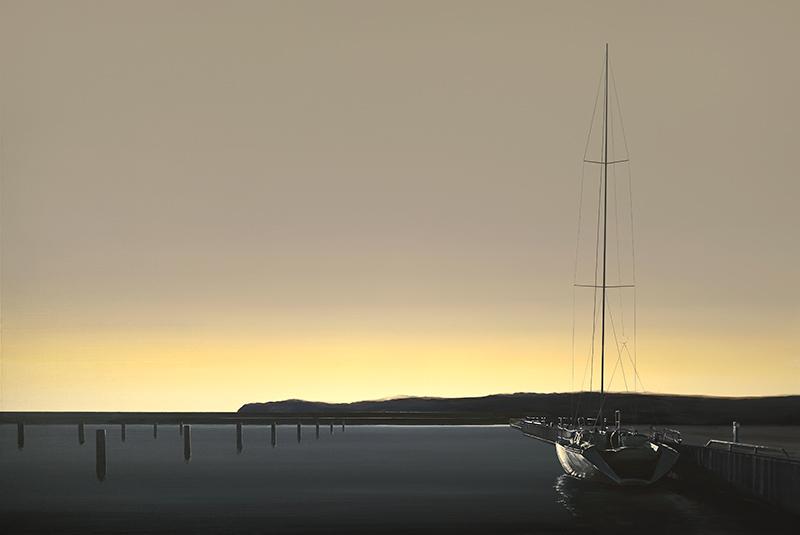 Port w blasku słońca, 2020