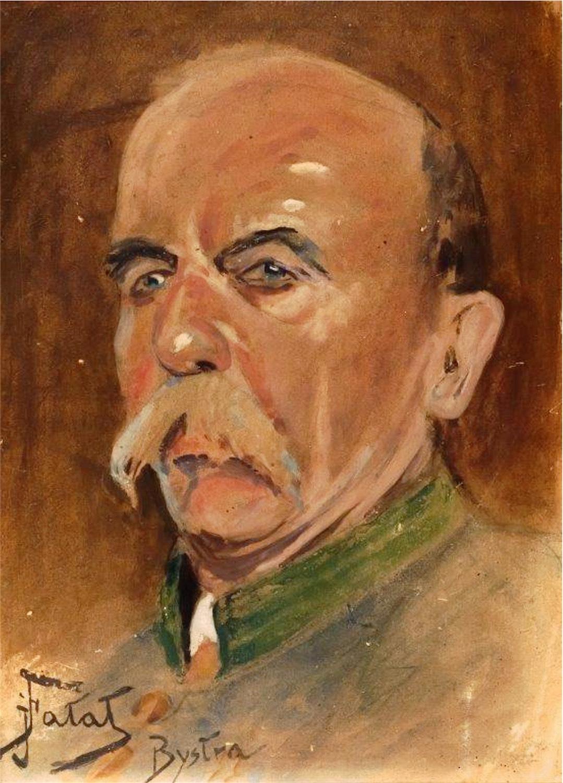 Portret leśniczego Ferdynanda Grzyba, 1923 r.