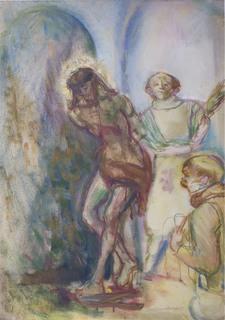Biczowanie Chrystusa, ok. 1955