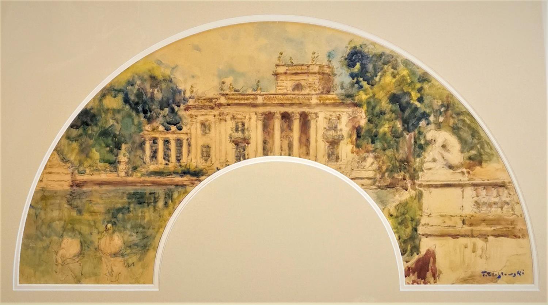 Pałac na Wodzie w Łazienkach Królewskich w Warszawie