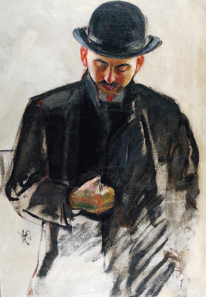 Mężczyzna w meloniku, ok. 1907
