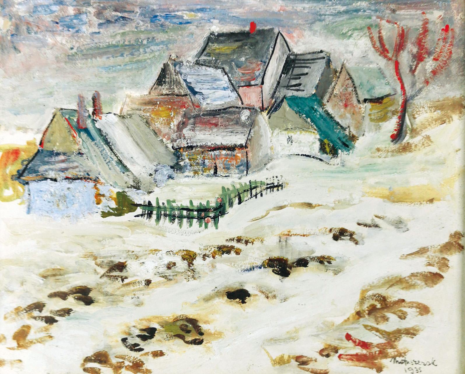 Zima w górach - Roztopy, 1935