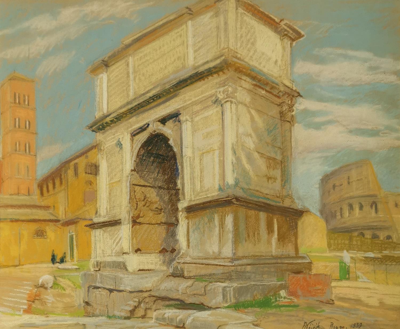 Łuk Konstantyna w Rzymie, 1939