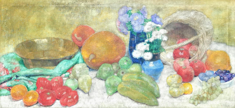 Martwa natura z owocami i kwiatami, ok. 1937