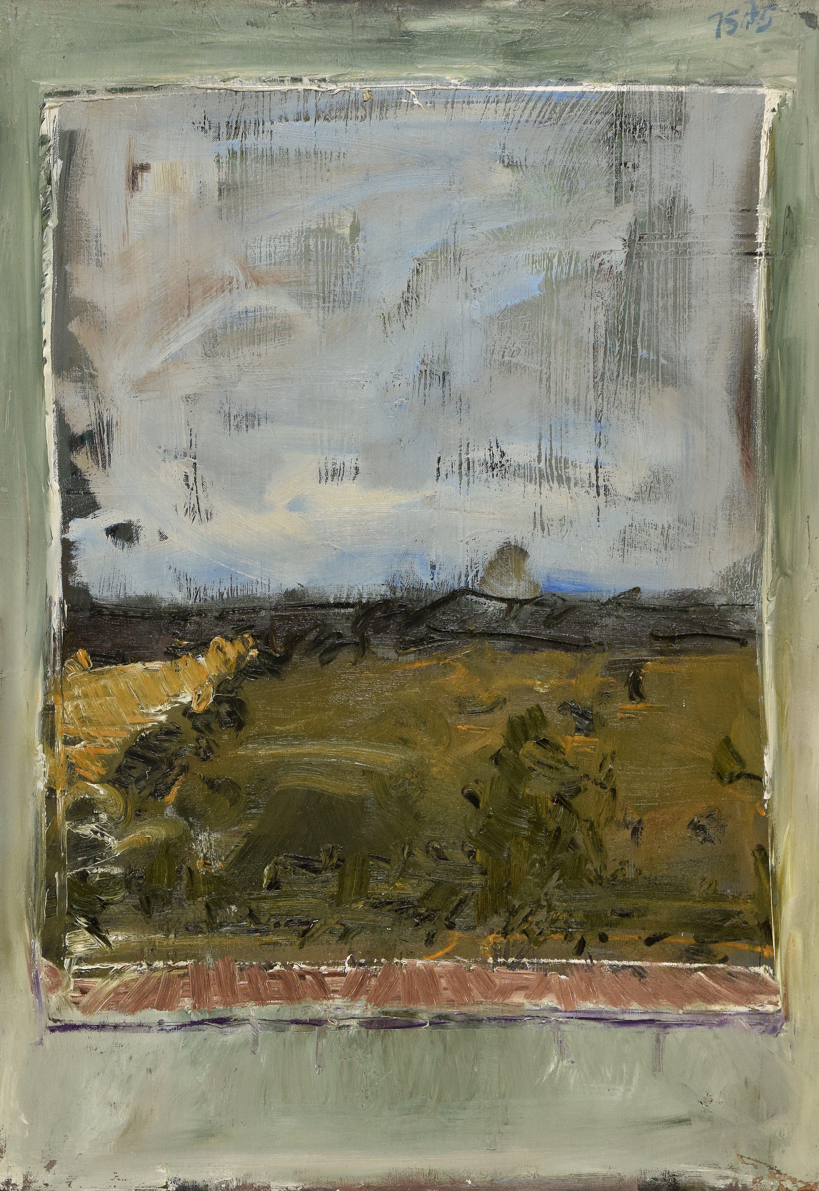 Pejzaż z okna, 1975