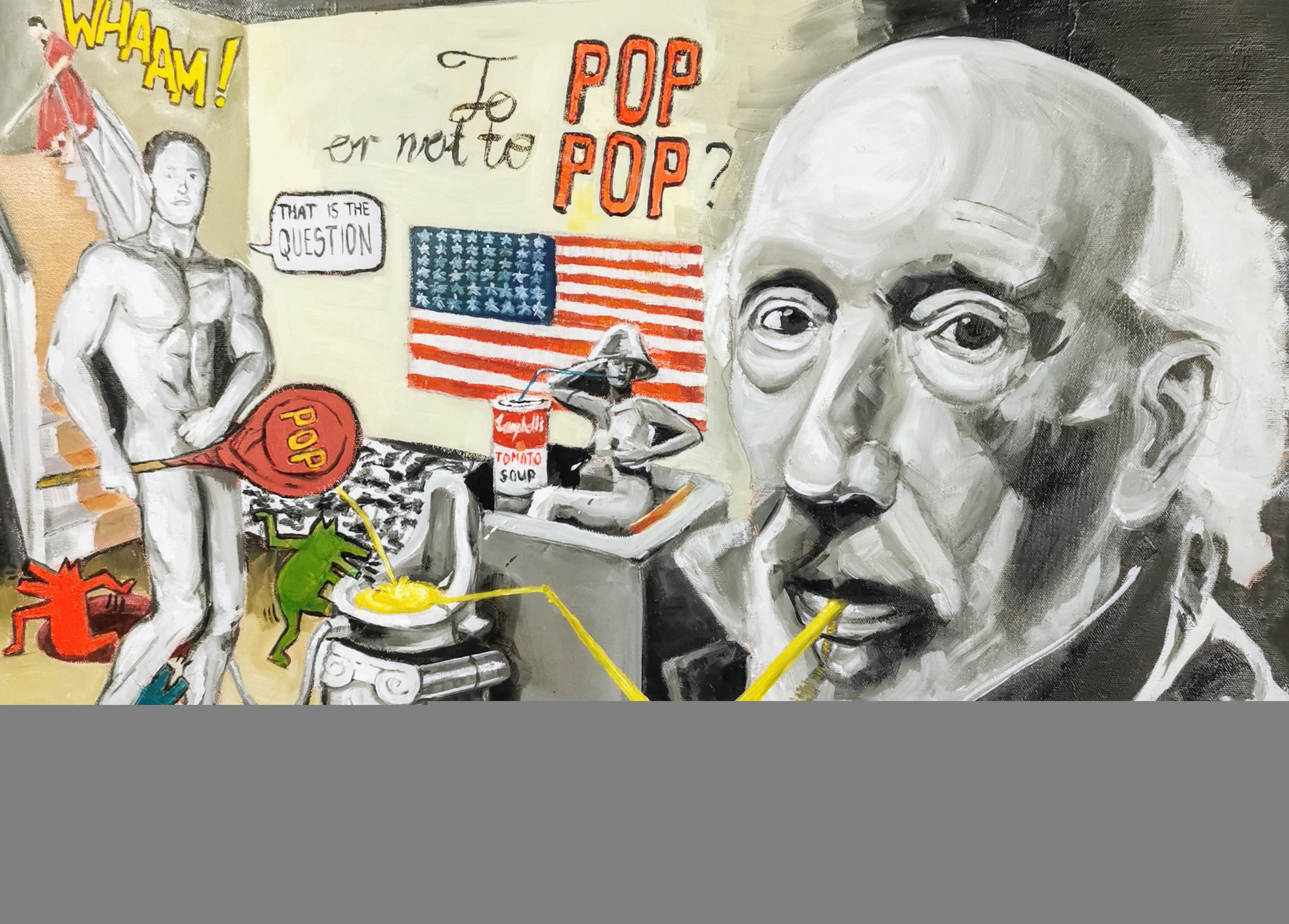 New Situation...TO POP or not to POP, Tribute to Richard Hamilton, 2015