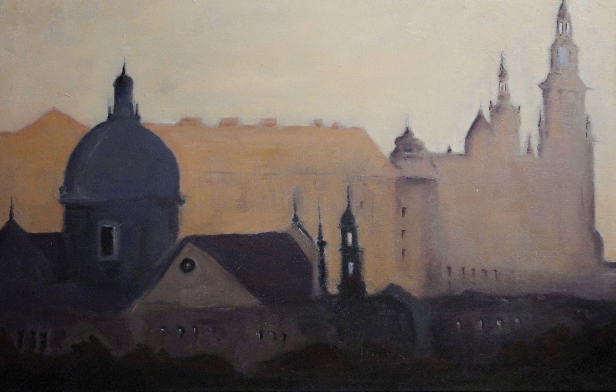 Kraków we mgle, 2019 r.