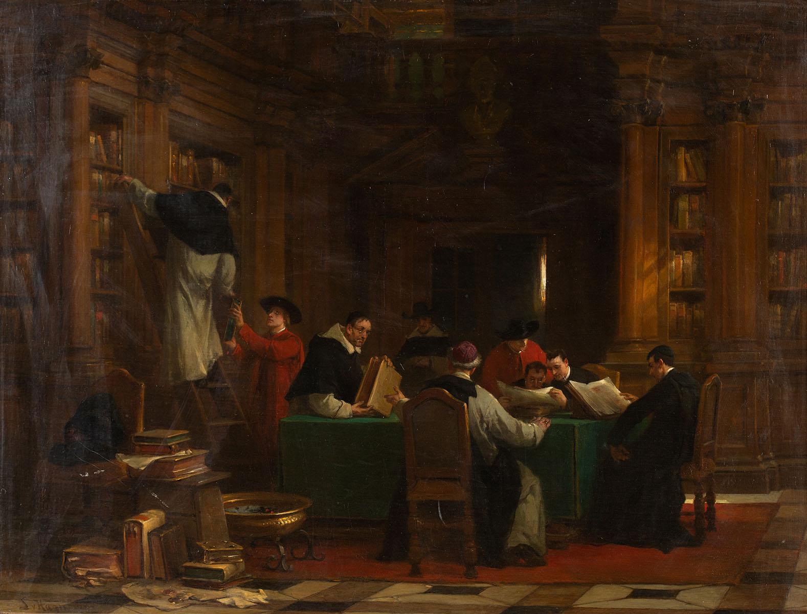 Biblioteka, 1882