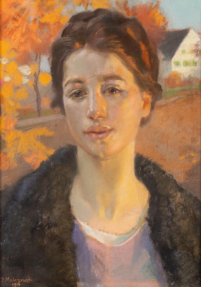 Portret w jesiennym słońcu, 1916