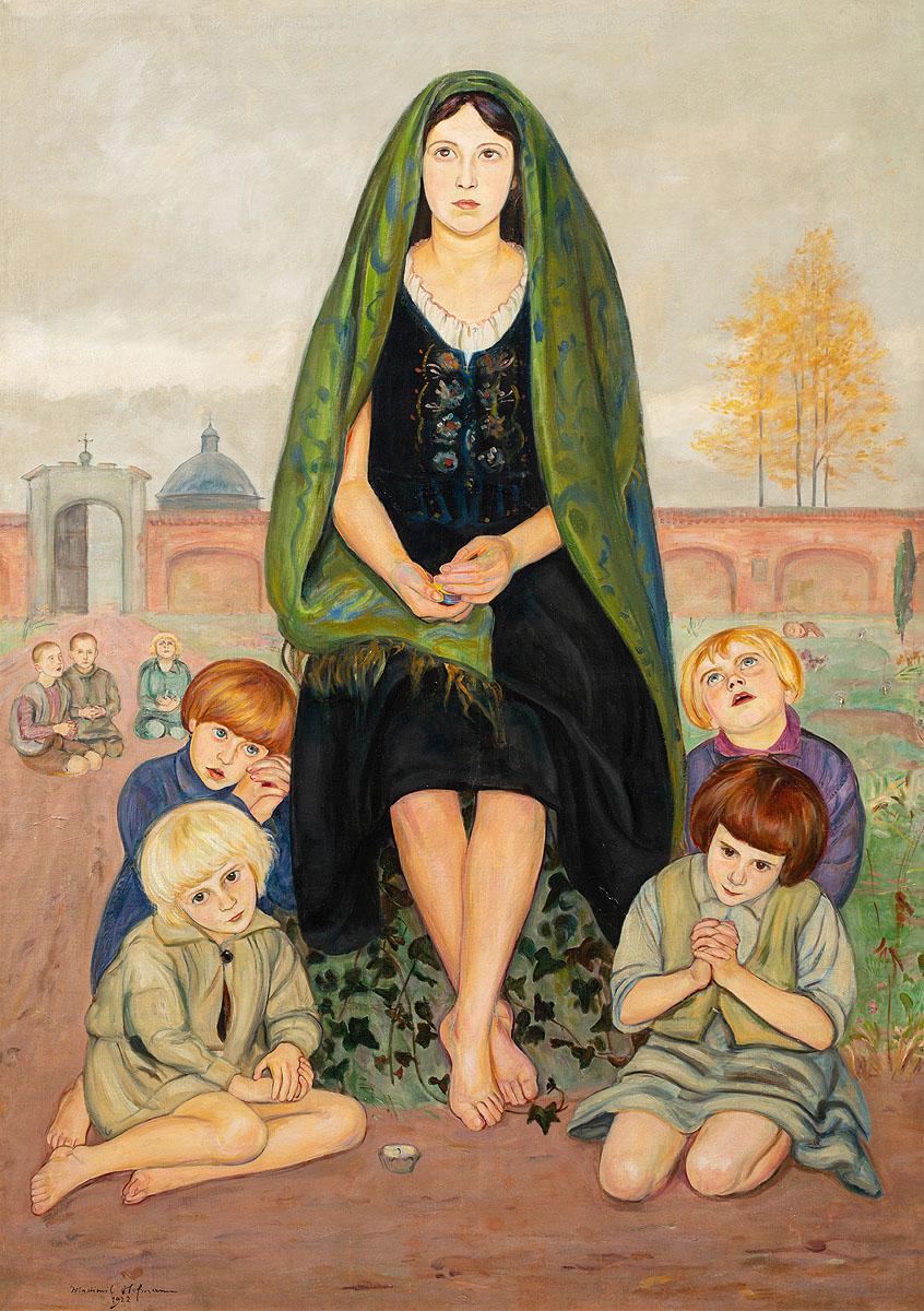 Madonna Sierotek, 1922