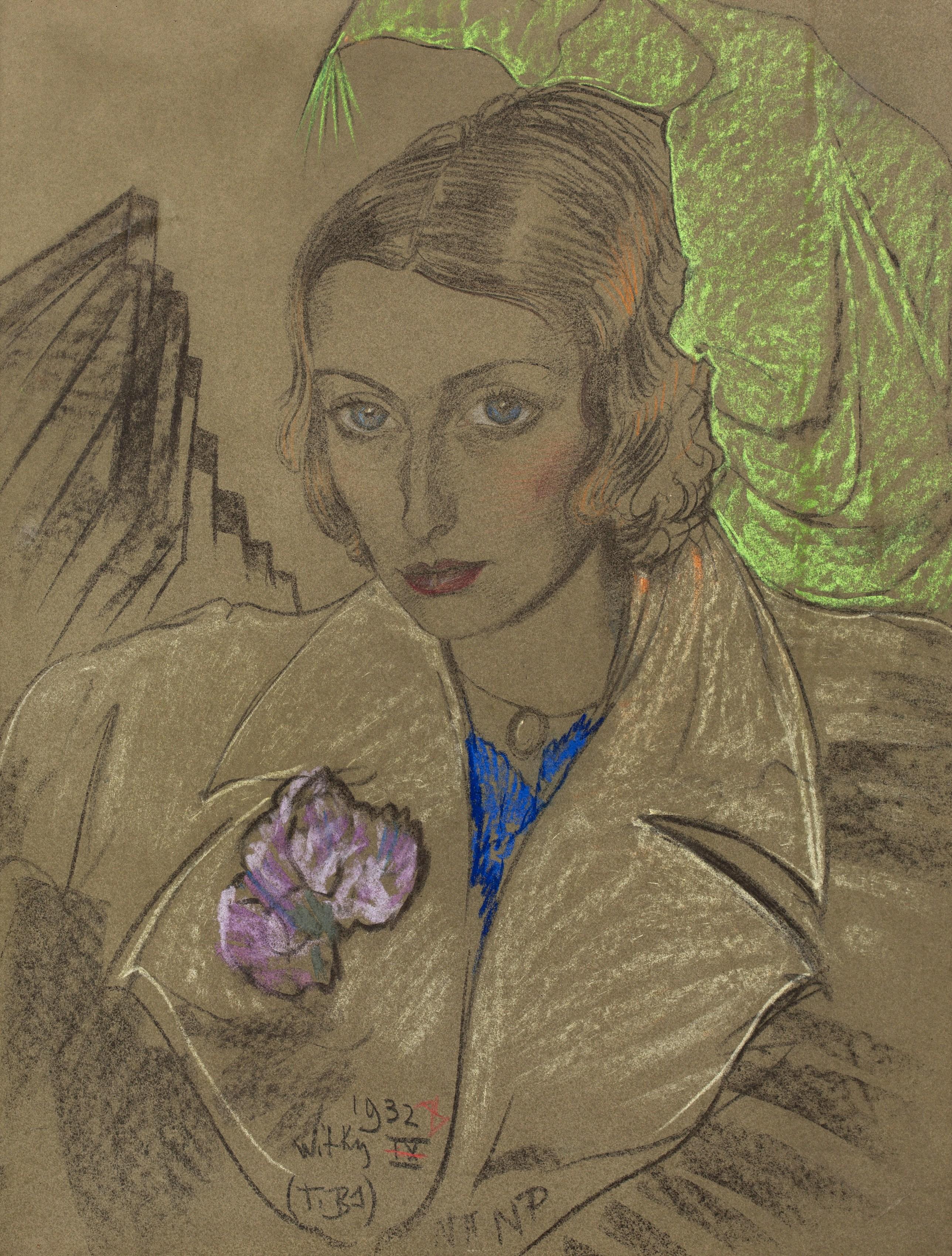 Portret Janiny Turowskiej-Leszczyńskiej, 1932