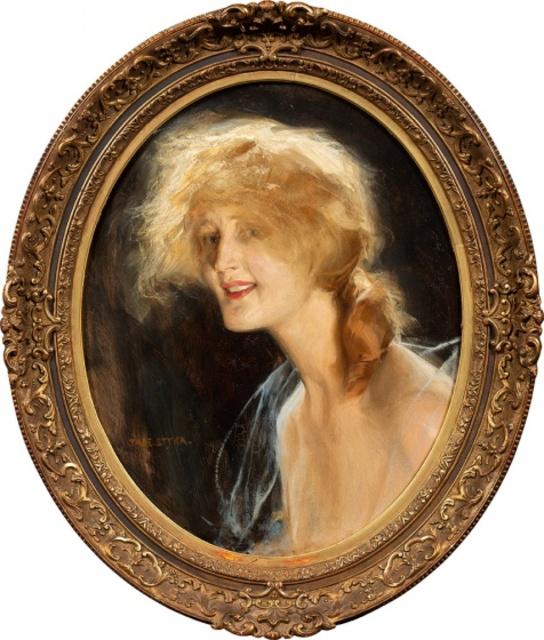 Portret blondynki