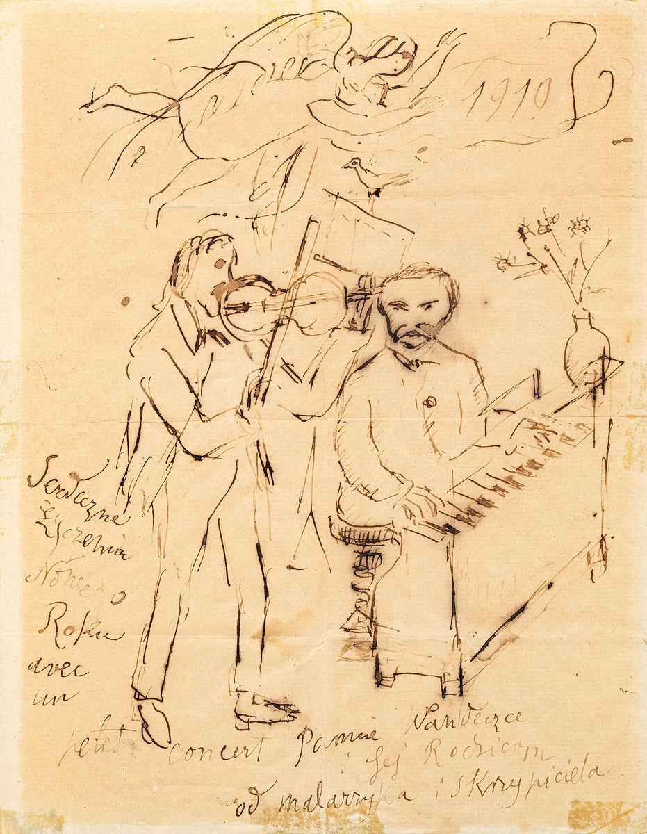 Mały koncert, 1919