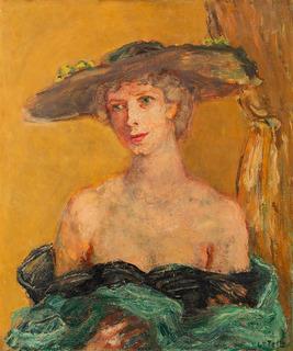 Dama w kapeluszu