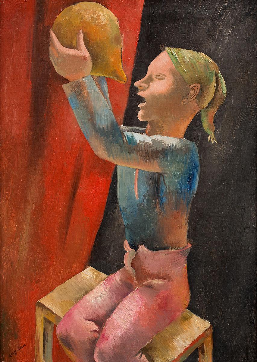 Pijący chłopiec, 1925