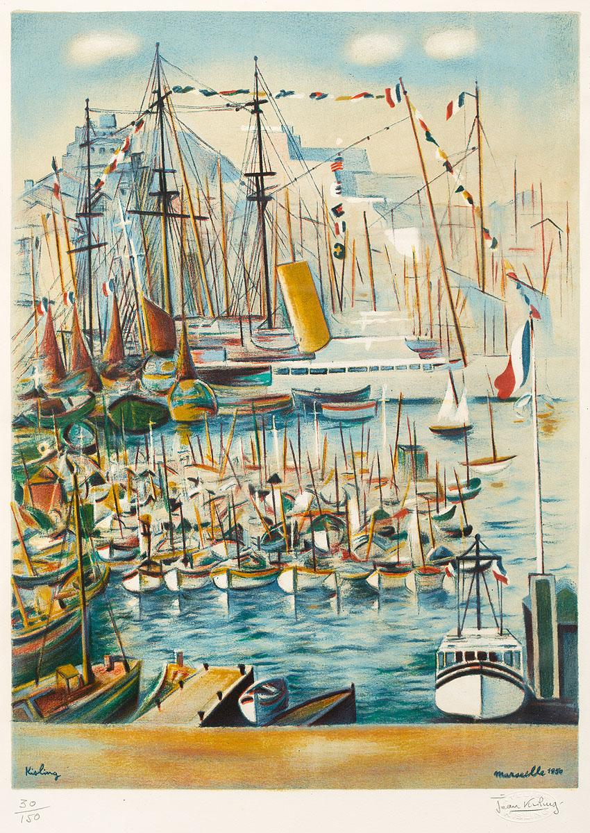 Marseille, 1950