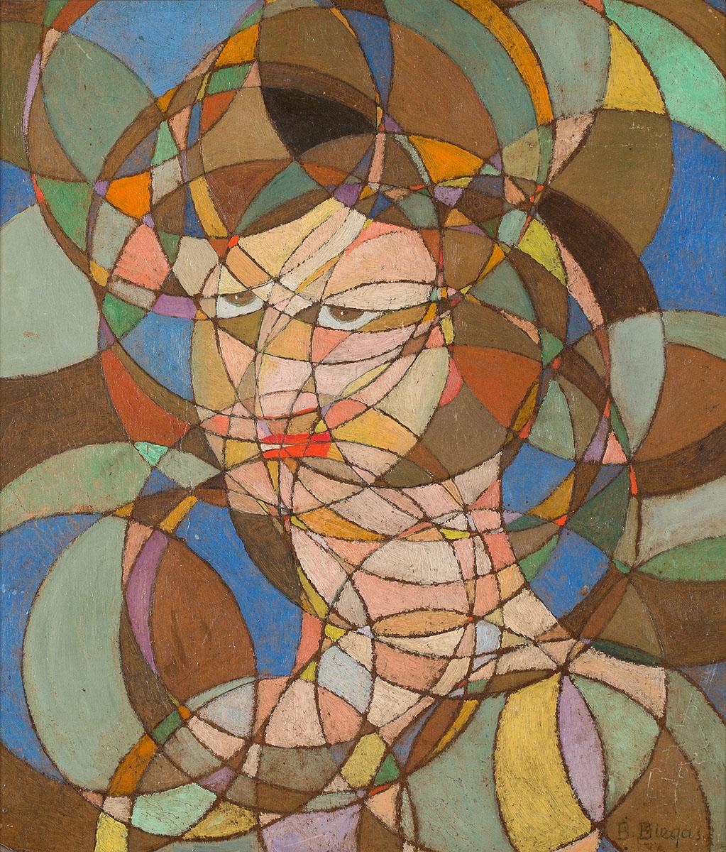 Portret sferyczny, lata 20. XX w.
