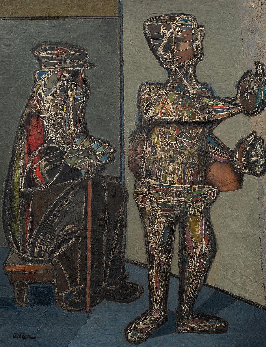 Dwie postacie, 1944