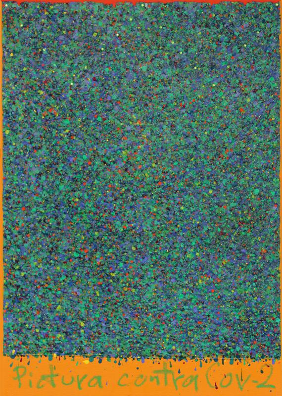 Obraz przeciwko Koronawirus, 2020