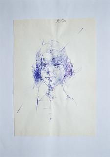 Szkic popiersia kobiety