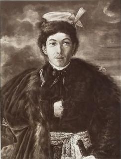Autoportret artysty w polskim stroju