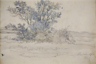 Pejzaż wiejski, 1923