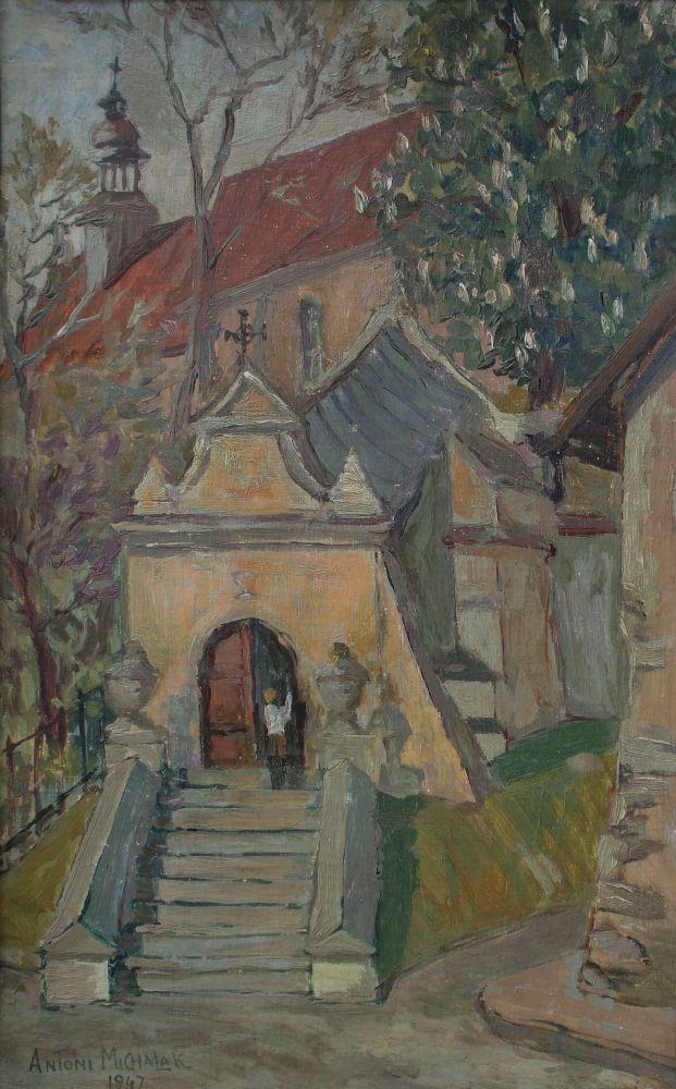 Klasztor Franciszkanów w Kazimierzu Dolnym (1947)