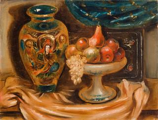 """""""Martwa natura z wazą z owocami"""", 1930"""