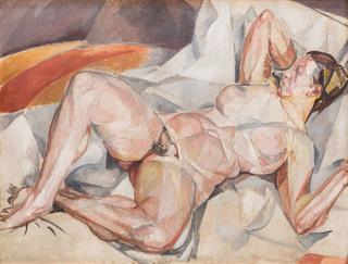 """""""Akt kubistyczny"""", około 1919-23"""