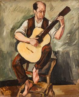 """""""Gitarzysta"""", 1922"""