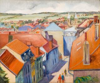 Pejzaż z południowej Francji, 1927