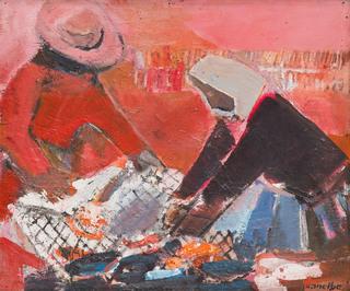 """""""Rybacy"""", około1958"""