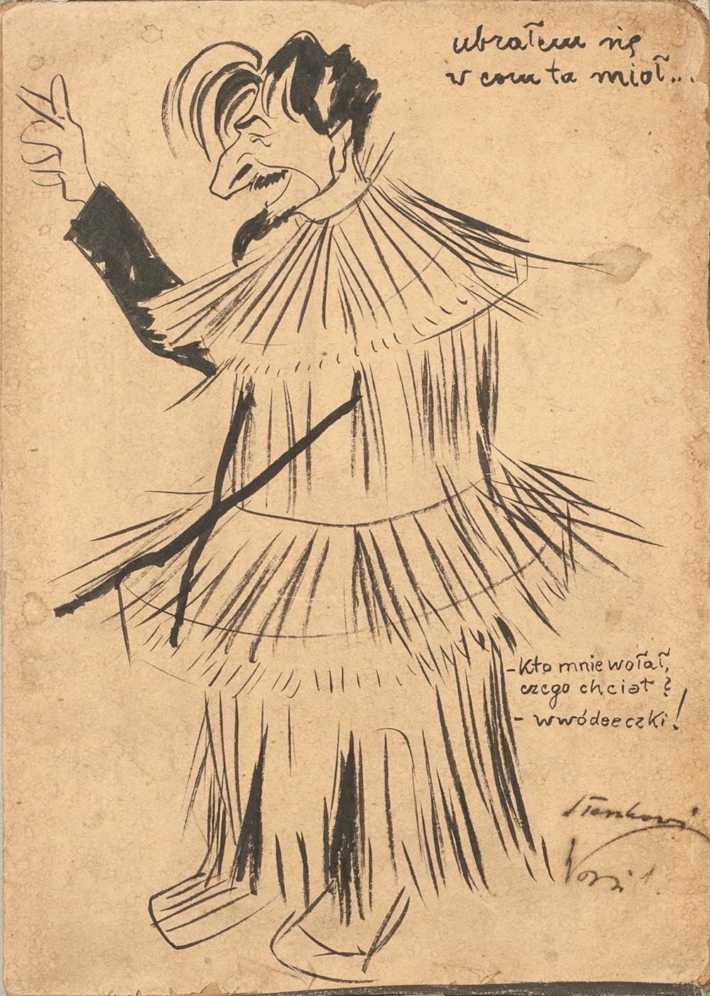 Ubrałem się w com ta mioł, ok. 1905 r.