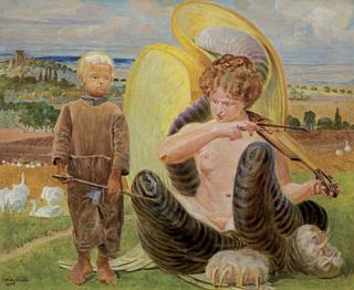 PASTUSZEK I CHIMERA, 1905