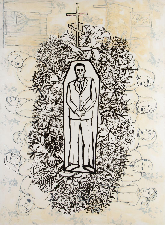 """""""Pogrzeb"""", 2008"""