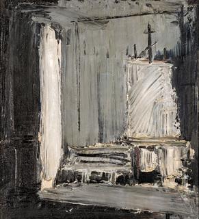 Wnętrze pracowni, 1987
