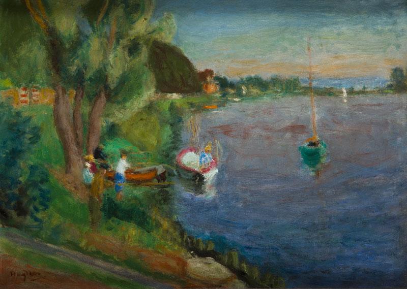 Pejzaż z Dordogne, lata 30.XX wieku