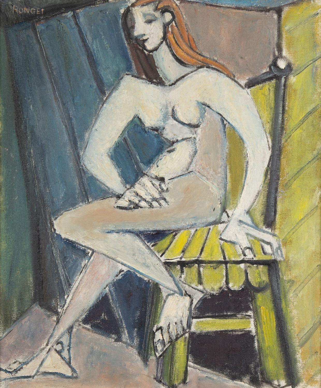 Kubistyczny akt kobiecy