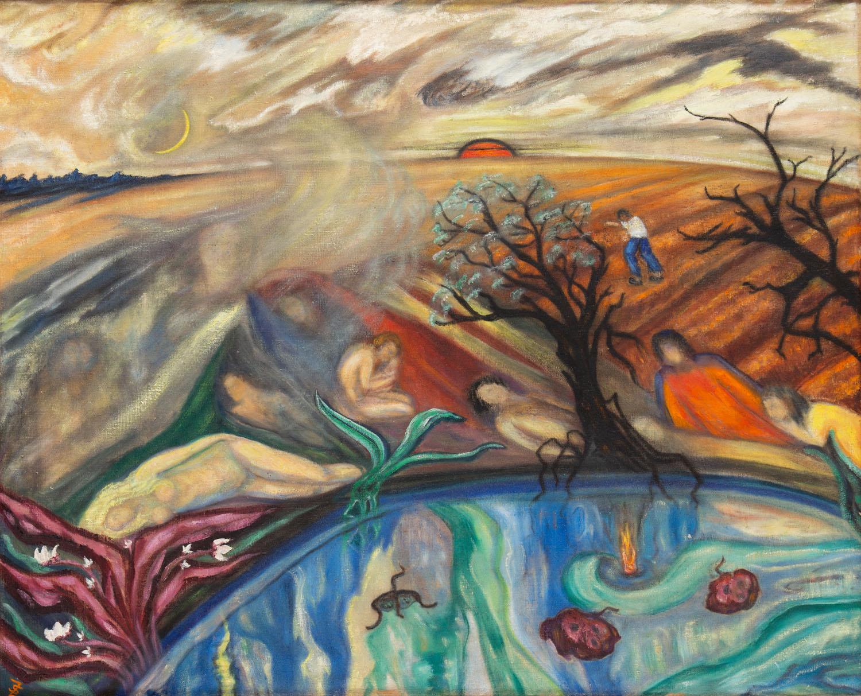 Krajobraz fantastyczny, 1930