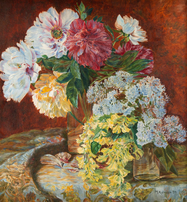 Martwa natura z bukietem kwiatów, 1934
