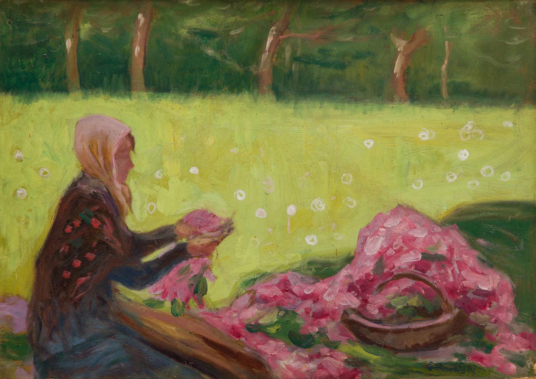 """""""Kwiaciarka"""", około przed/lub 1926"""