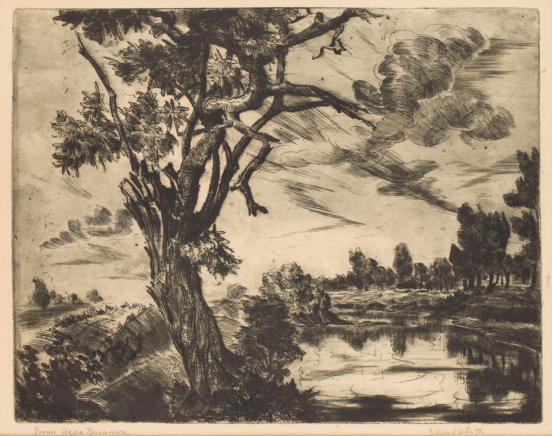 """""""Toruń, Kępa Bazarowa"""", 1948"""